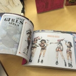 Example of the inside of the book #2 - girls of Boobies!