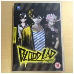 The front cover of the Blood Lad UK DVD