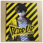 Front cover of the booklet included in the UK Collector's Edition of Blood Lad