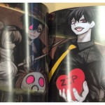 Another glimpse inside the Blood Lad UK Collector's Edition booklet.