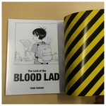 A glimpse inside the Blood Lad UK Collector's Edition booklet. Turn to the back, and you'll find manga chapter translated into English! (This was originally included in the Japanese release.)