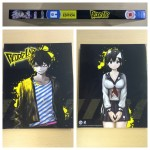 The front, back and spine of the digipack included with the UK Collector's Editon Blu-ray version of Blood Lad