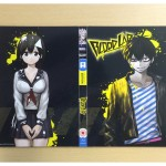 The outside of the digipack included UK Collector's Edition Blu-ray of Blood Lad