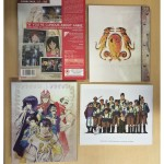 The backs of the outer slip cover, digipack, rigid box and booklet side-by-side