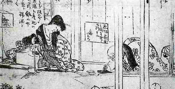 hokusai's daughter