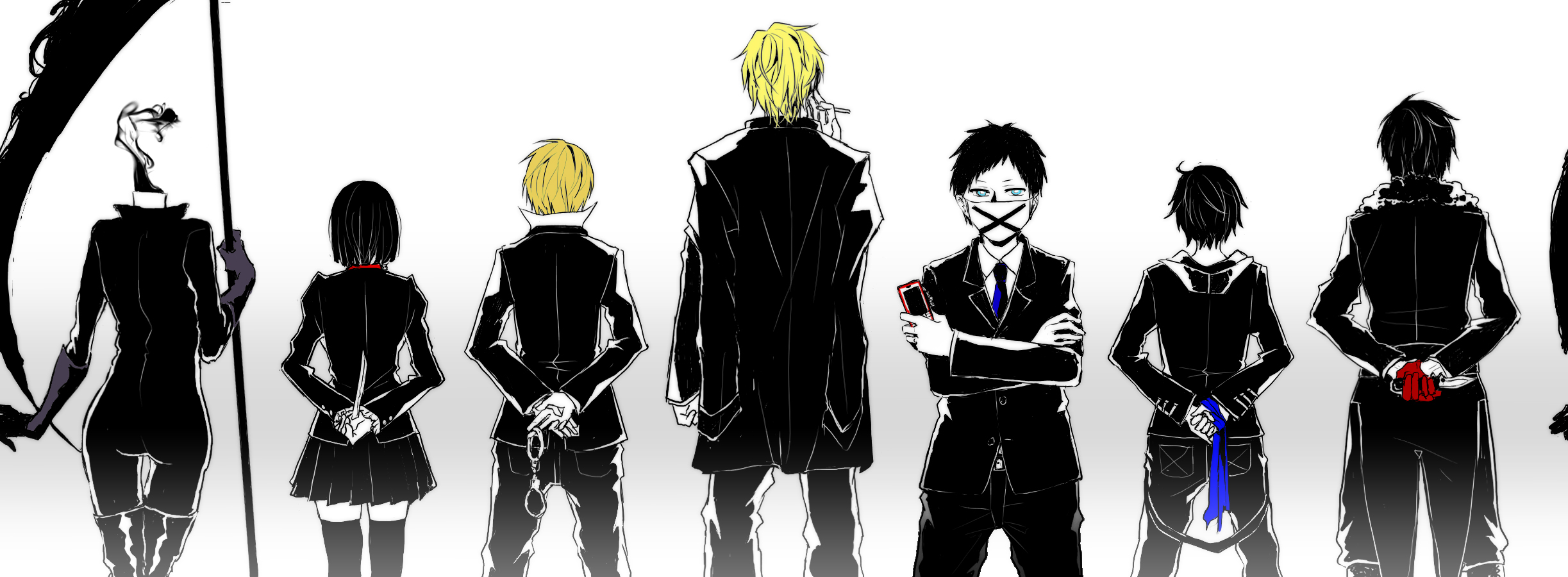 durarara all the anime