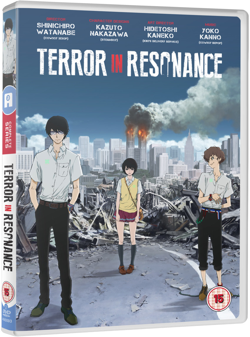 DVD version of Terror In Resonance coming Q2 2016