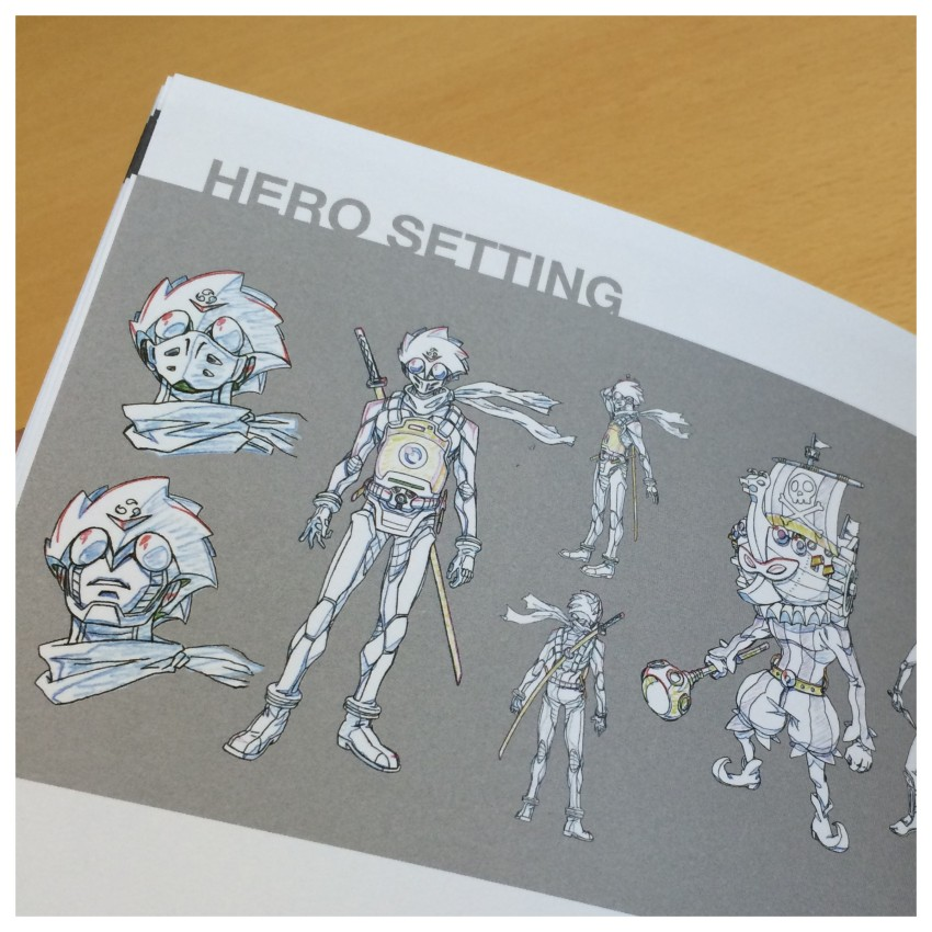 Another glimpse inside the art book