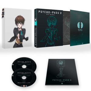 Psycho-Pass 2 Ltd. Collector's Edition Blu-ray - out 9th May