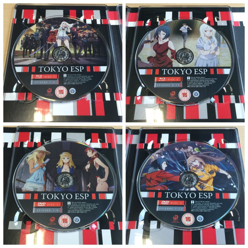 And now a closer look at four discs contained in this release.
