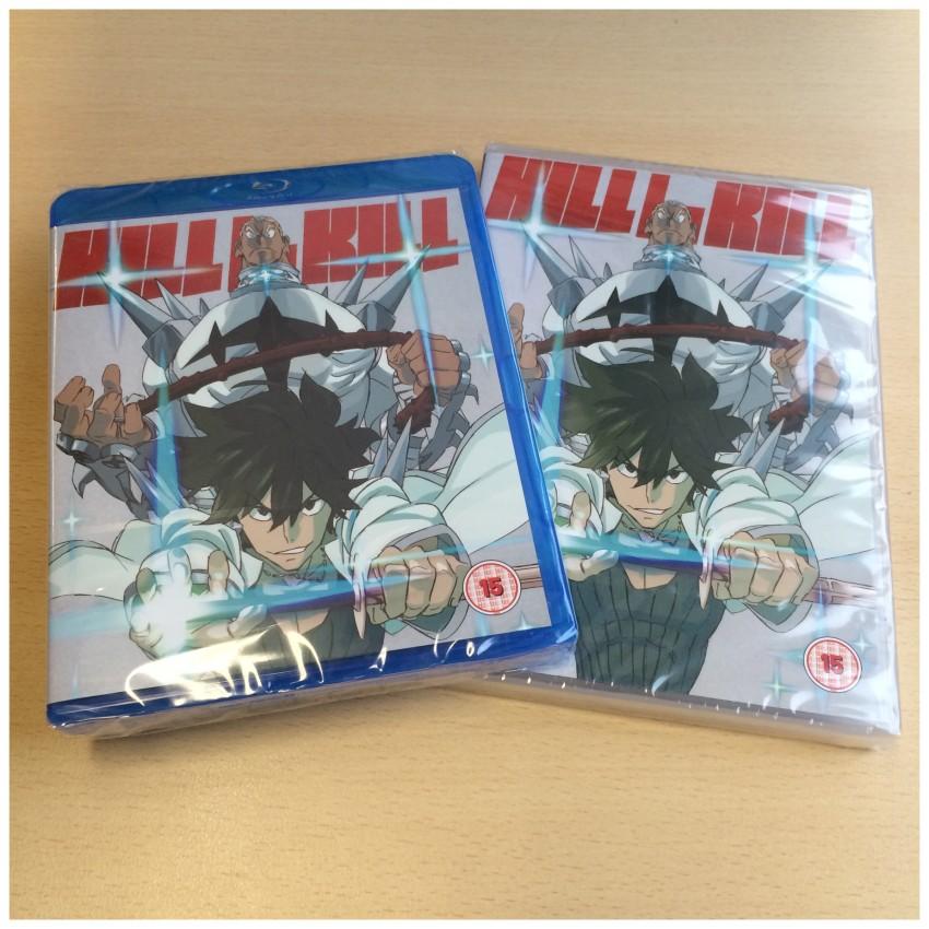 Kill la Kill Part 2 std ed Blu-ray and DVD - out 25th April