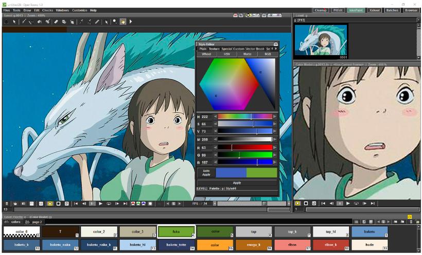Toonz Toon Shaders And Studio Ghibli All The Anime