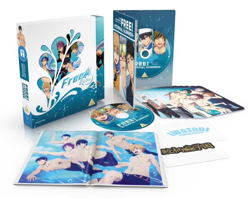 Free! -Eternal Summer- Limited Collector's Edition Blu-ray