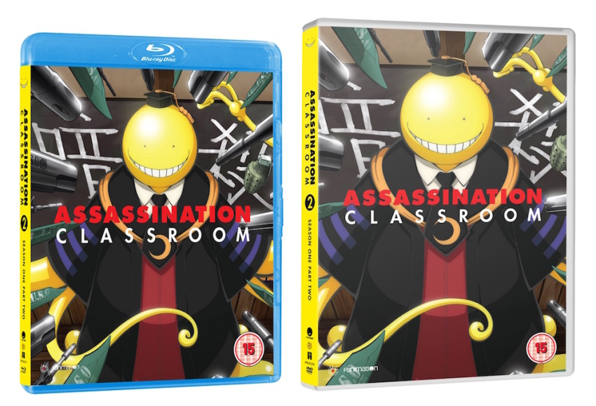 Assassination Classroom Season 1 Part 2 - out 26th September
