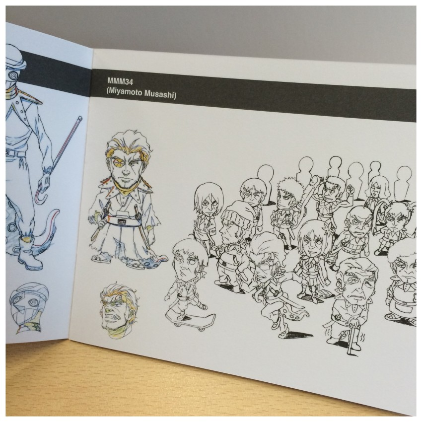 Another glimpse at some of the character artwork.