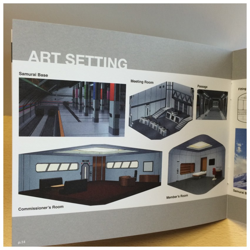 A look at some of the Art Settings included in the booklet.