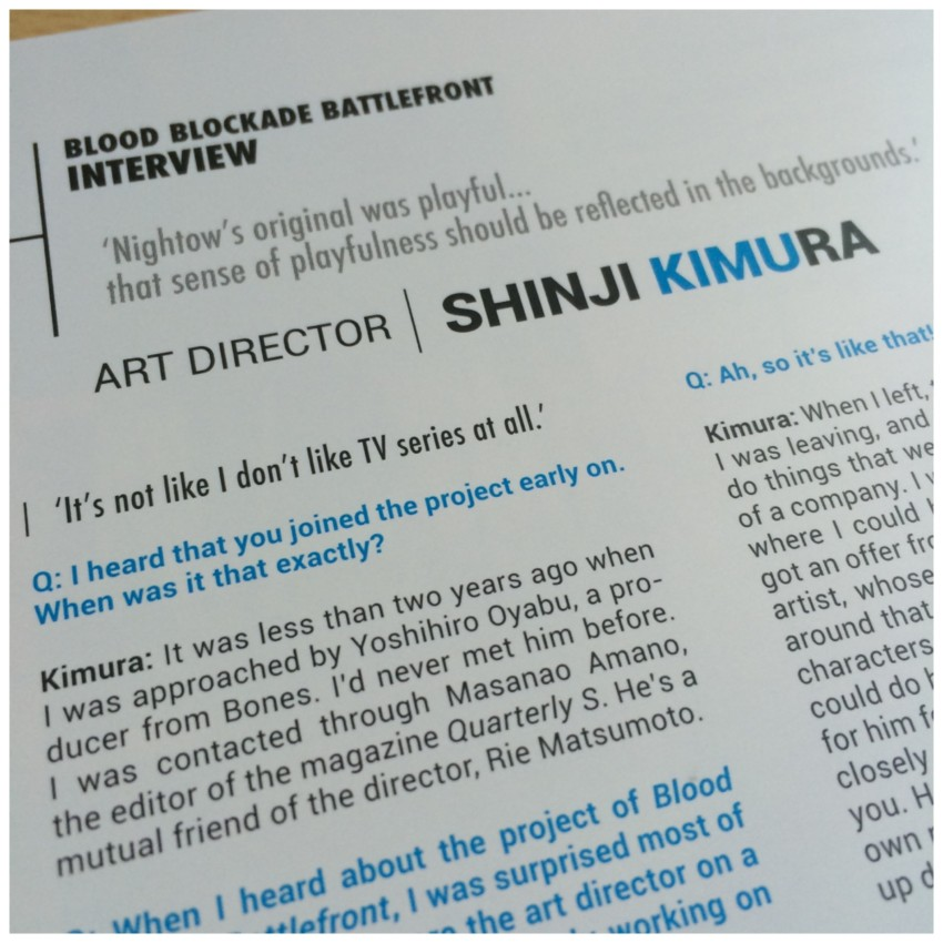 Interview with Art Director Shinji Kimura