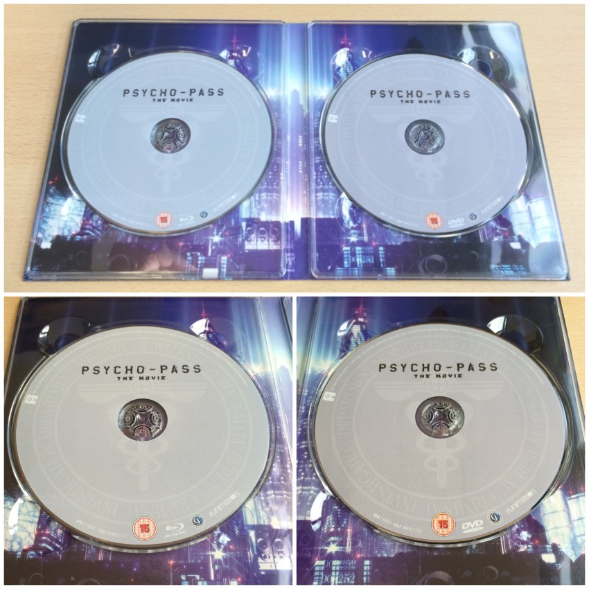 Now a closer look at the discs