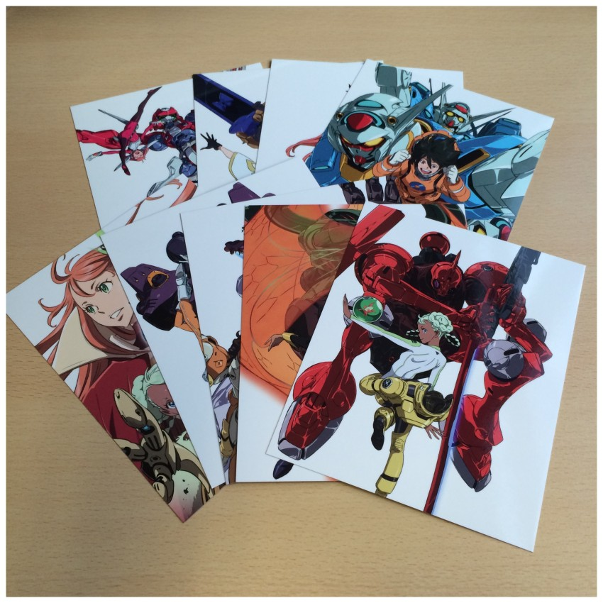 You also get art cards with this set!