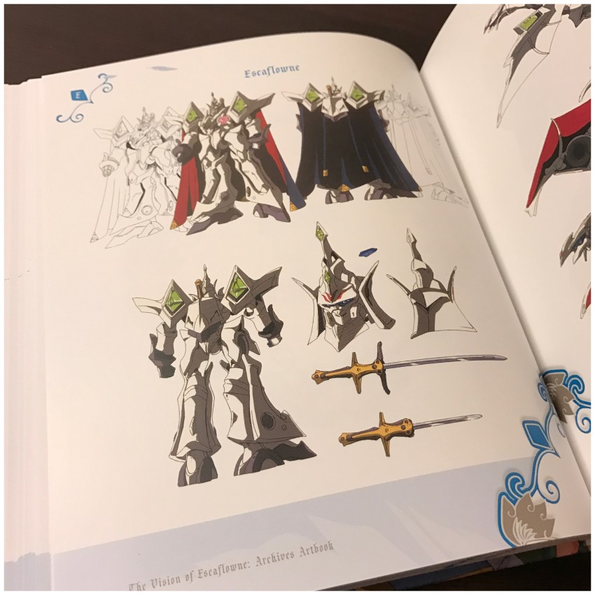 A quick preview at the Mecha & Creatures section of the book