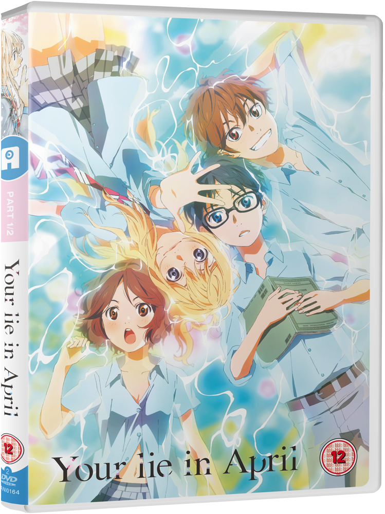Your Lie in April Part 1 - DVD