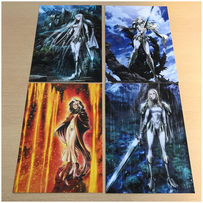 All four art cards for you