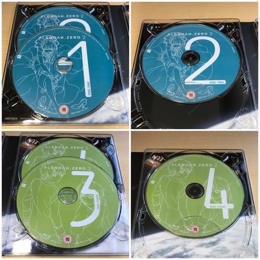 A closer look at each disc