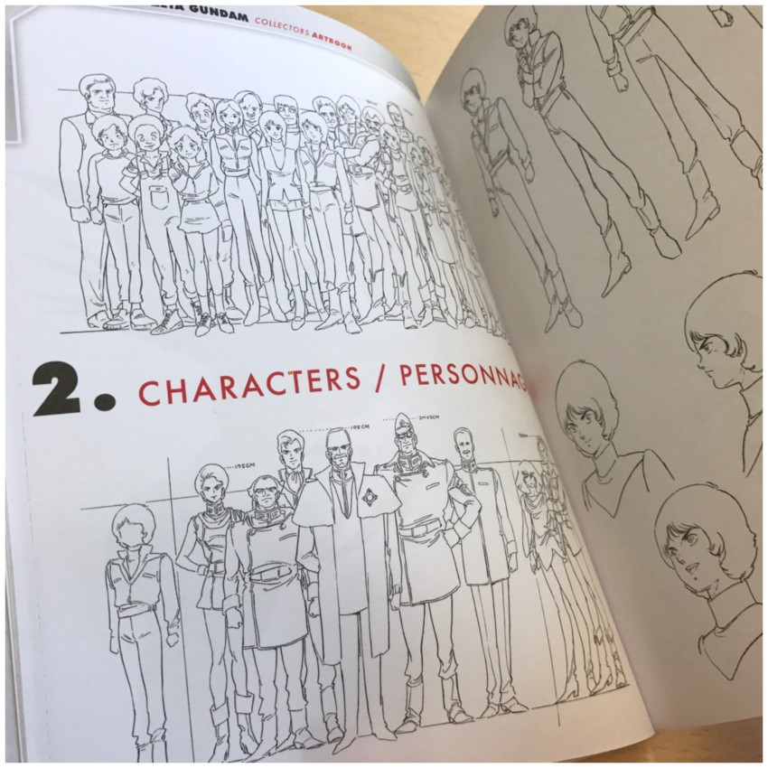 Section 2, characters