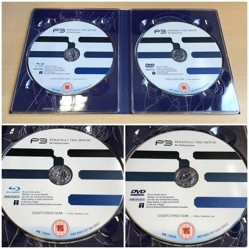 A closer look at the discs