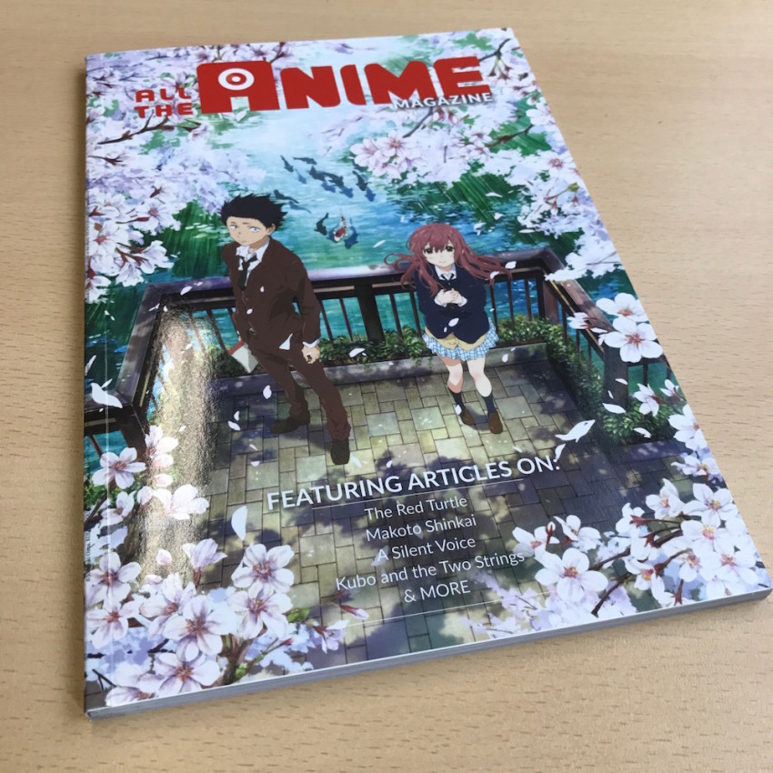 The first ever AllTheAnime Magazine! Free with a purchase at our AllTheAnime stand (booth #1291) at MCM London Comic Con (while stock lasts)