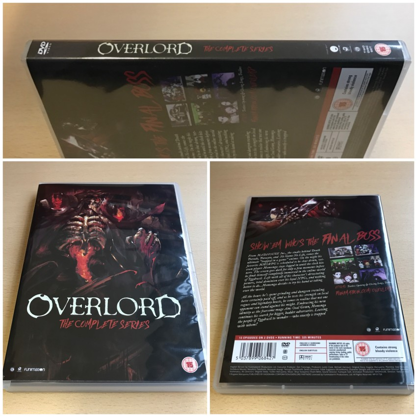 The DVD box