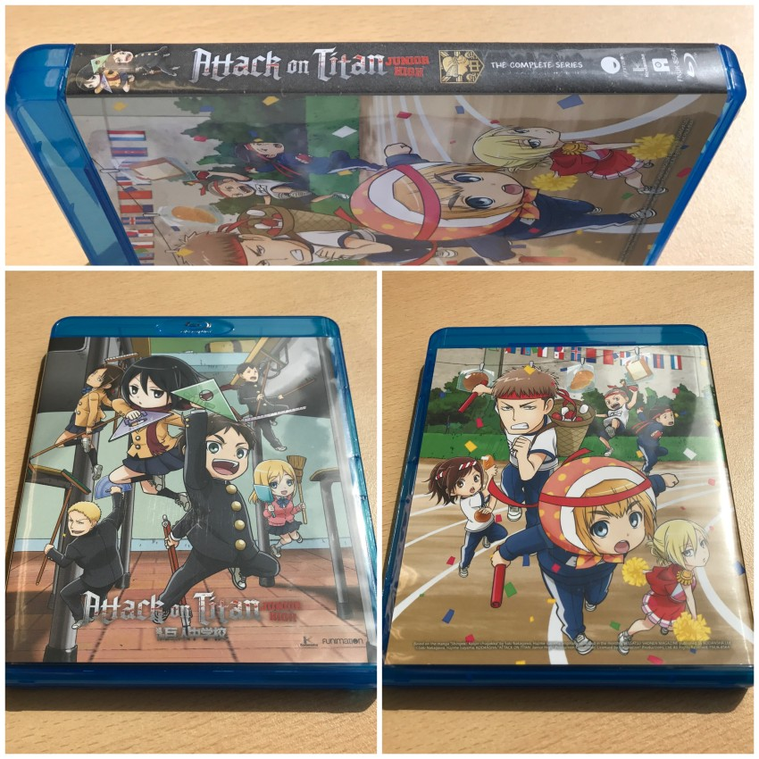 The Blu-ray box
