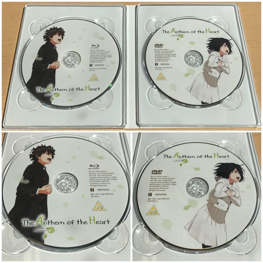 A closer look at each disc