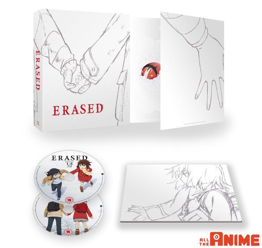 Erased Part 1, Ltd Collector's Blu-ray+DVD set