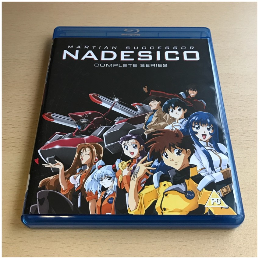 First of all, the the front of the first amaray case. This case contains the three discs for the TV series along with the bonus DVD disc