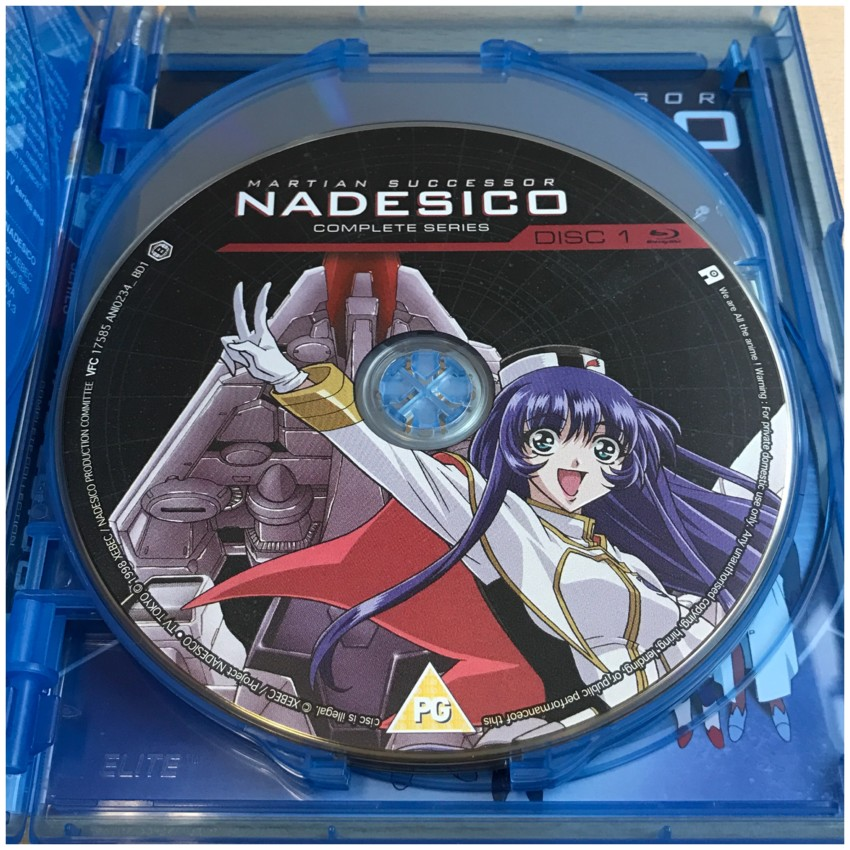 Here's a look Disc 1