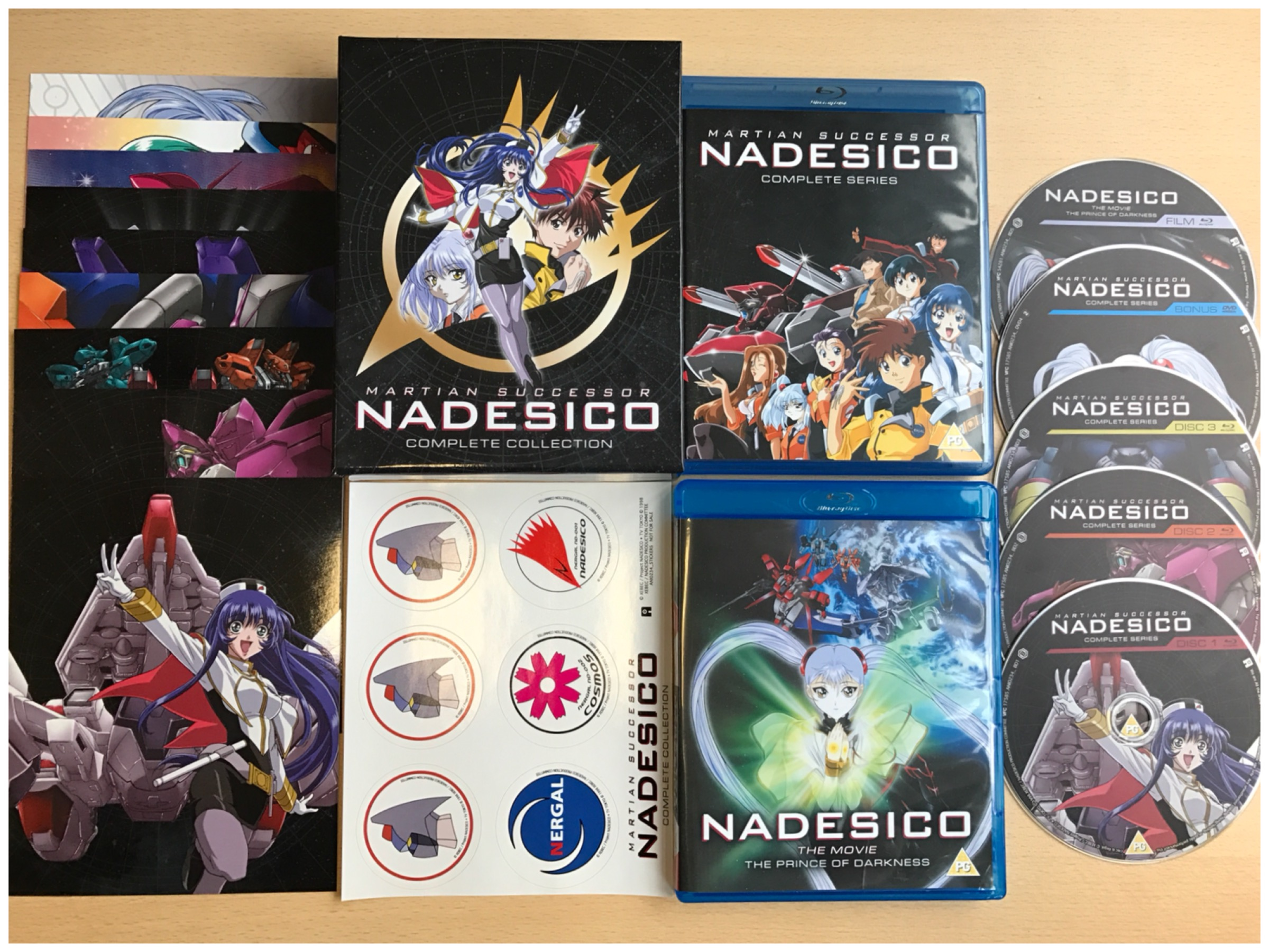 Unboxing Martian Successor Nadesico All The Anime