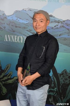 Masaaki Yuasa at Annecy 2017 (Photo source: mangamag)