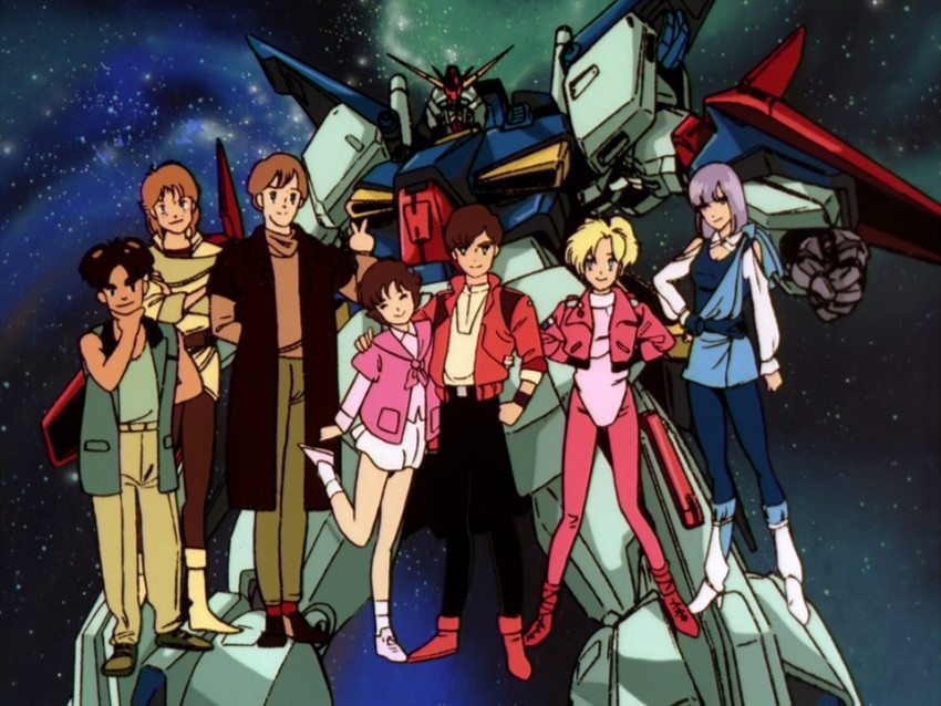 Gundam ZZ – All the Anime