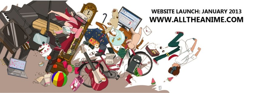Banner used to announce the the website launch on our Facebook page back in December 2012