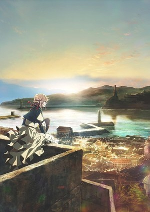 Key Visual for Violet Evergarden