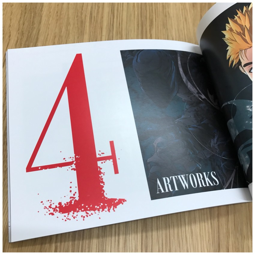 And finally section 4: Artworks