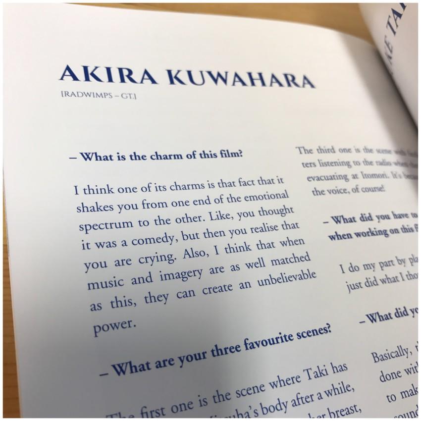 Then Akira Kuwahara (Guitar)