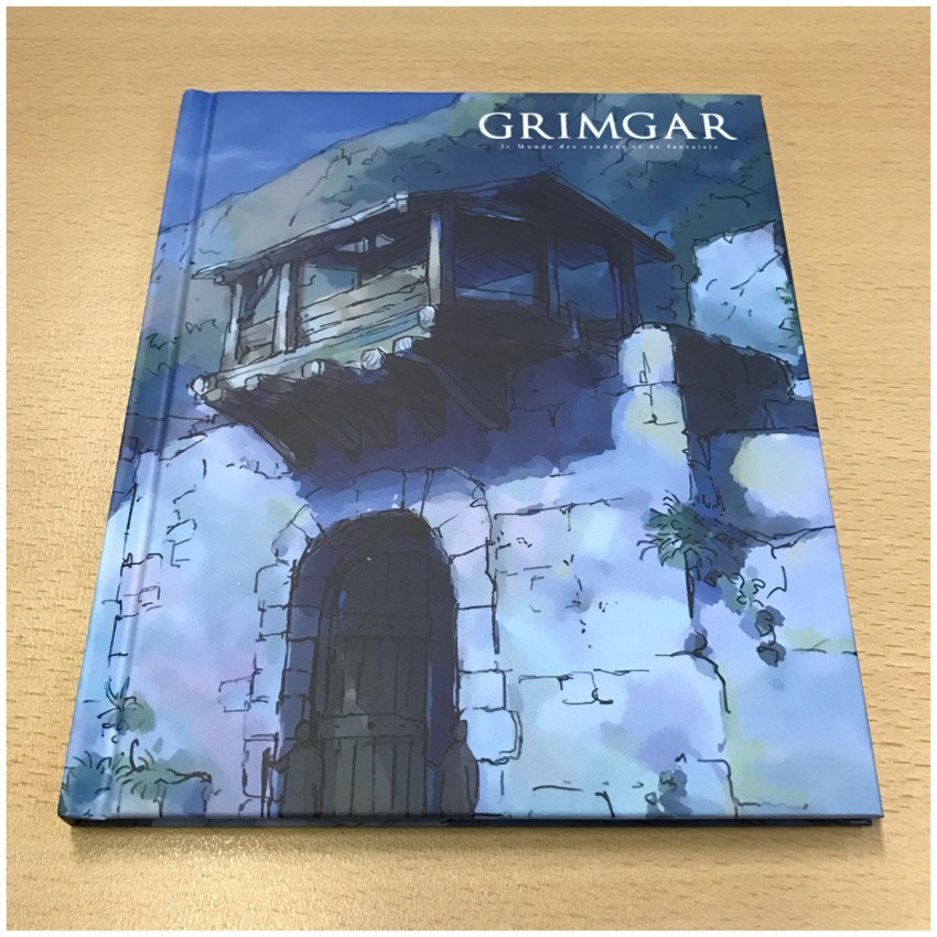 Now onto the hardback art booklet. Here's the front of it
