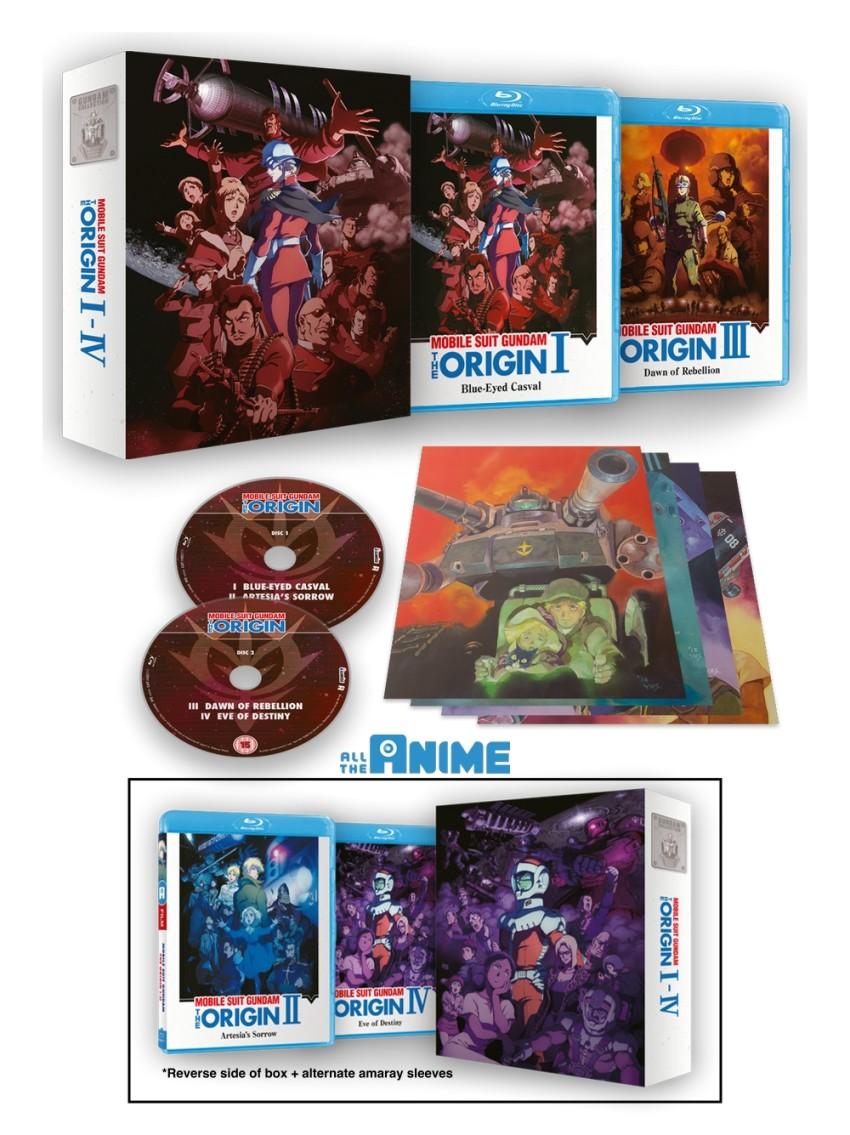 Gundam Origin AN template