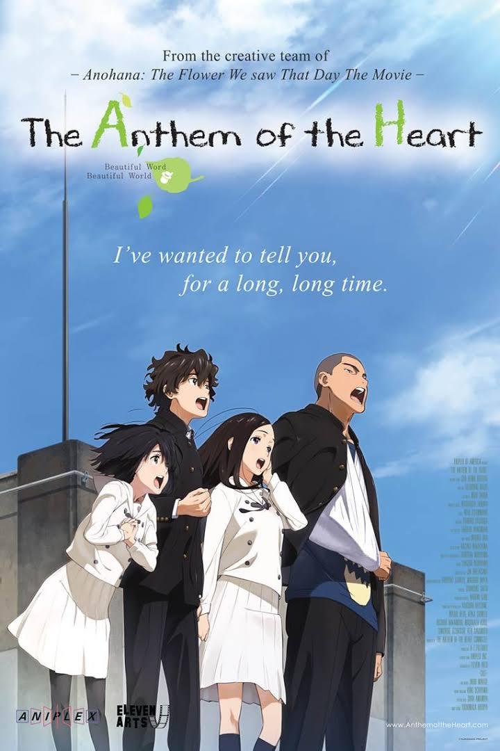 Scriptwriter for Anthem of the Heart