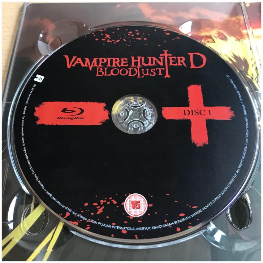 Disc 1: Blu-ray