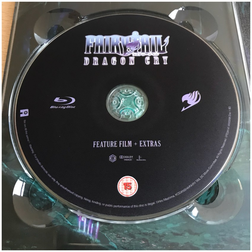 The Blu-ray disc
