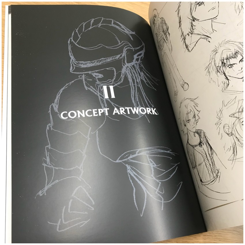 Then we move onto section 2: concept artwork. Again, let's show you a few pages from this section.