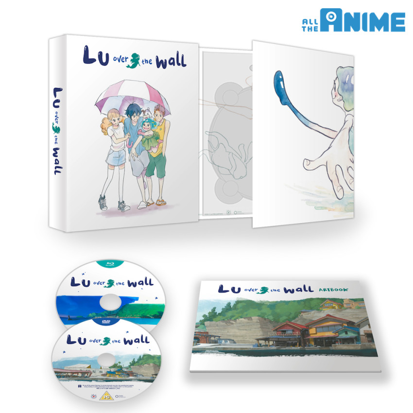 Lu Over the Wall Ltd Collector's Ed. Blu-ray+DVD set - out 30th July 2018